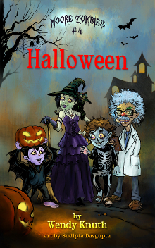Moore Zombies: Halloween Book Cover