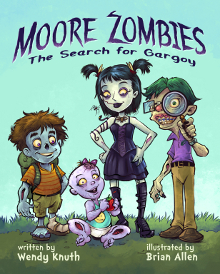 Moore Zombies: The Search For Gargoy Book Cover